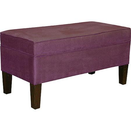 Storage Bench Purple