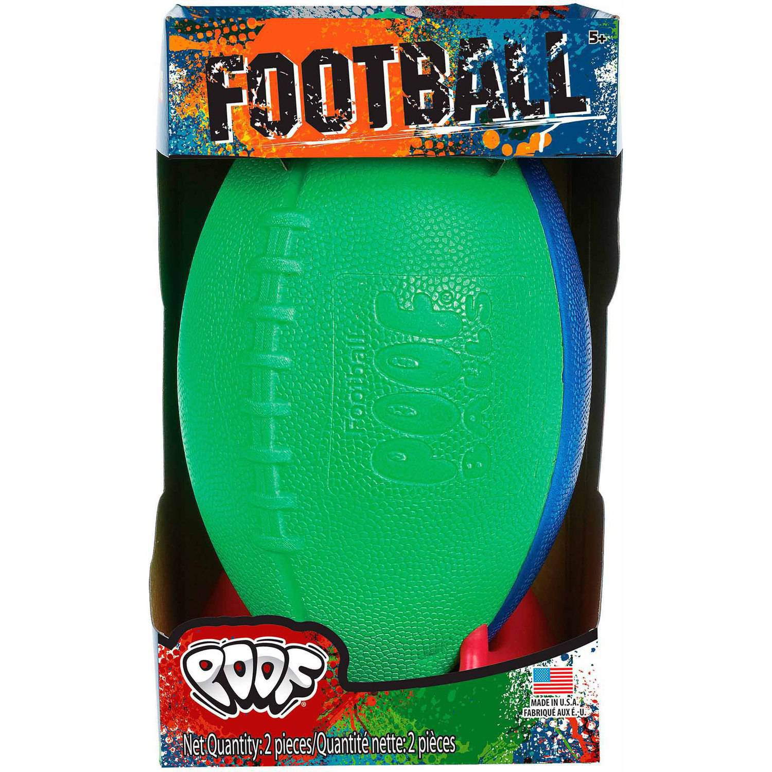 POOF Football with Kicking Tee