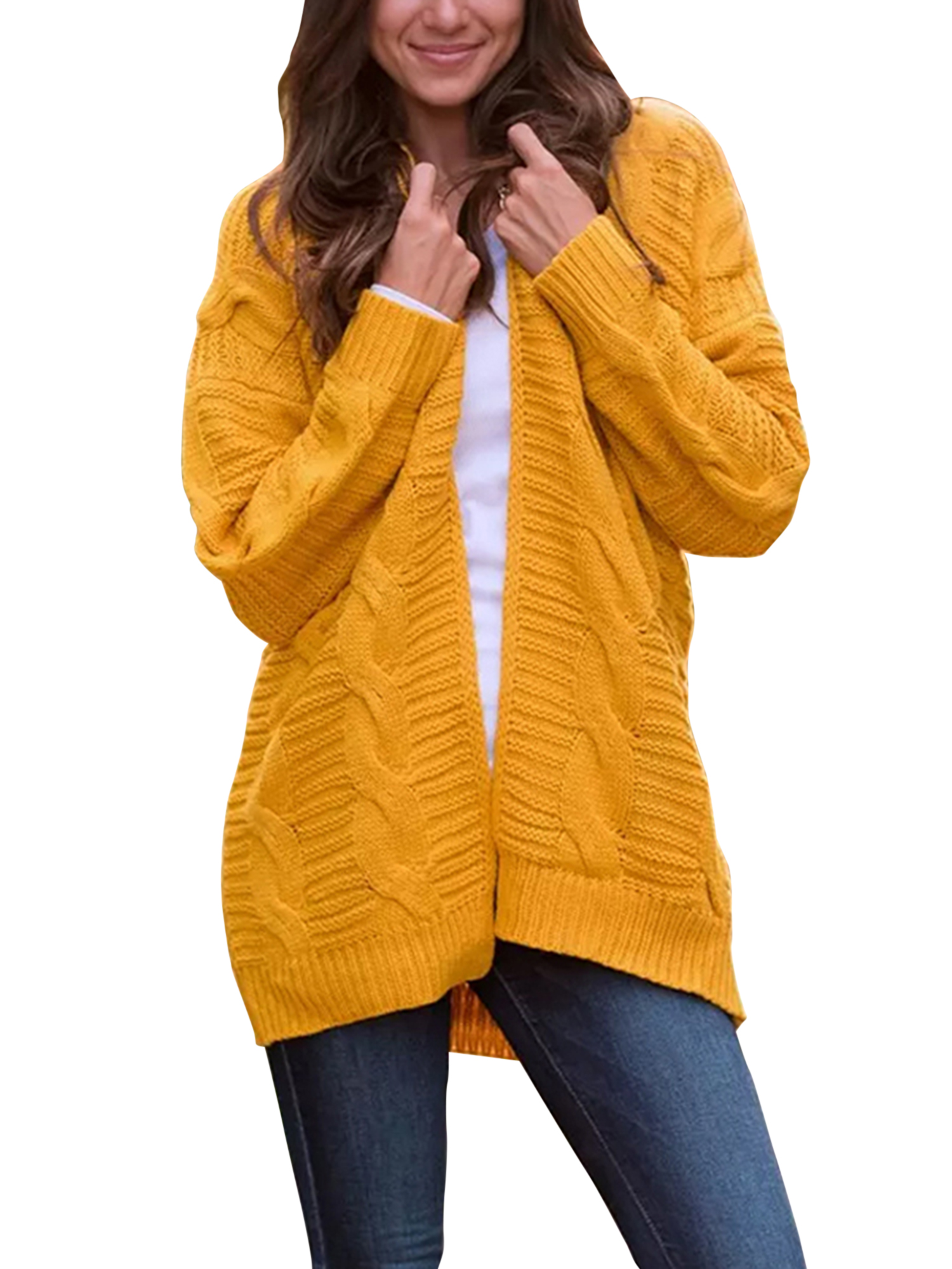 Baby Girls Winter Long Sleeve Cardigan Jumper Sweater Fall Knit Jacket Top KE