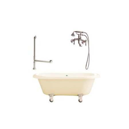 LP1 Portsmouth Wall Mounted Faucet Package Freestanding Tub