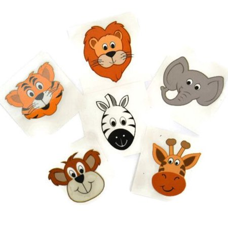 Temporary Tattoos (144/Pack) - Wild Animals](31 Dollar Halloween Tattoos)