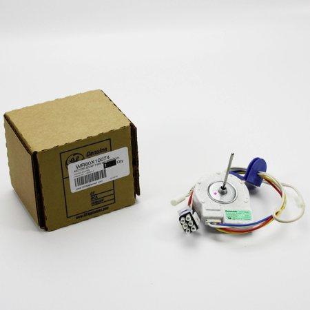 Wr60x10074 for ge refrigerator evaporator fan motor for Evaporator fan motor for hotpoint refrigerator