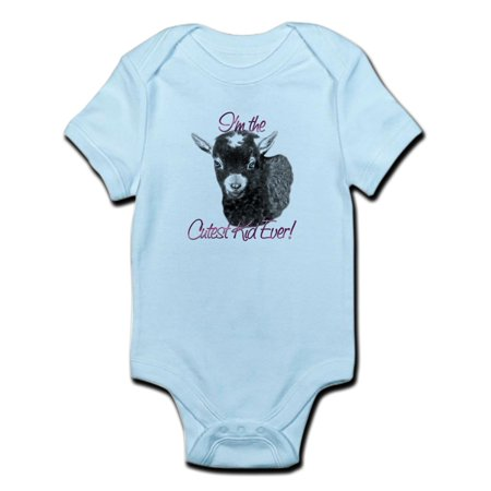 CafePress - Goat Cutest Kid Ever Infant Bodysuit - Baby Light Bodysuit