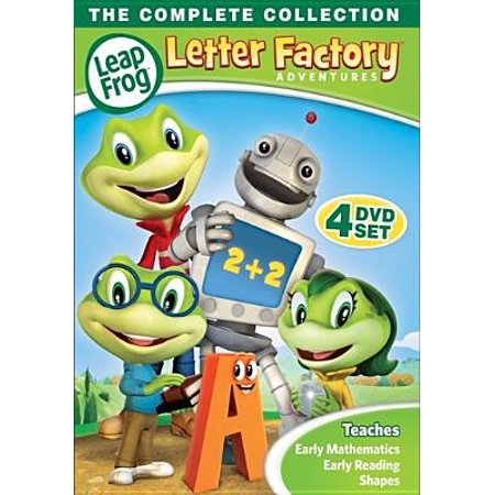 Leapfrog: Letter Factory Adventures (DVD)