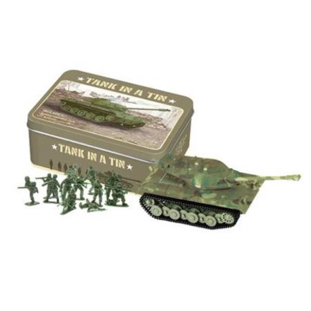 Army Play Set in a Tin