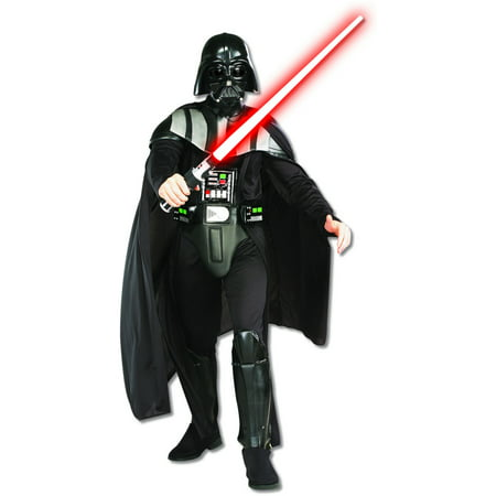 Deluxe Star Wars Darth Vader Adult's Costume And Lightsaber Bundle - Costume Lightsaber