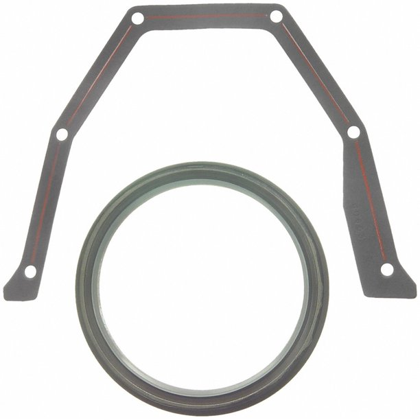 Fel-Pro BS 40650 Rear Main Seal Set, Rear Main Bearing Oil