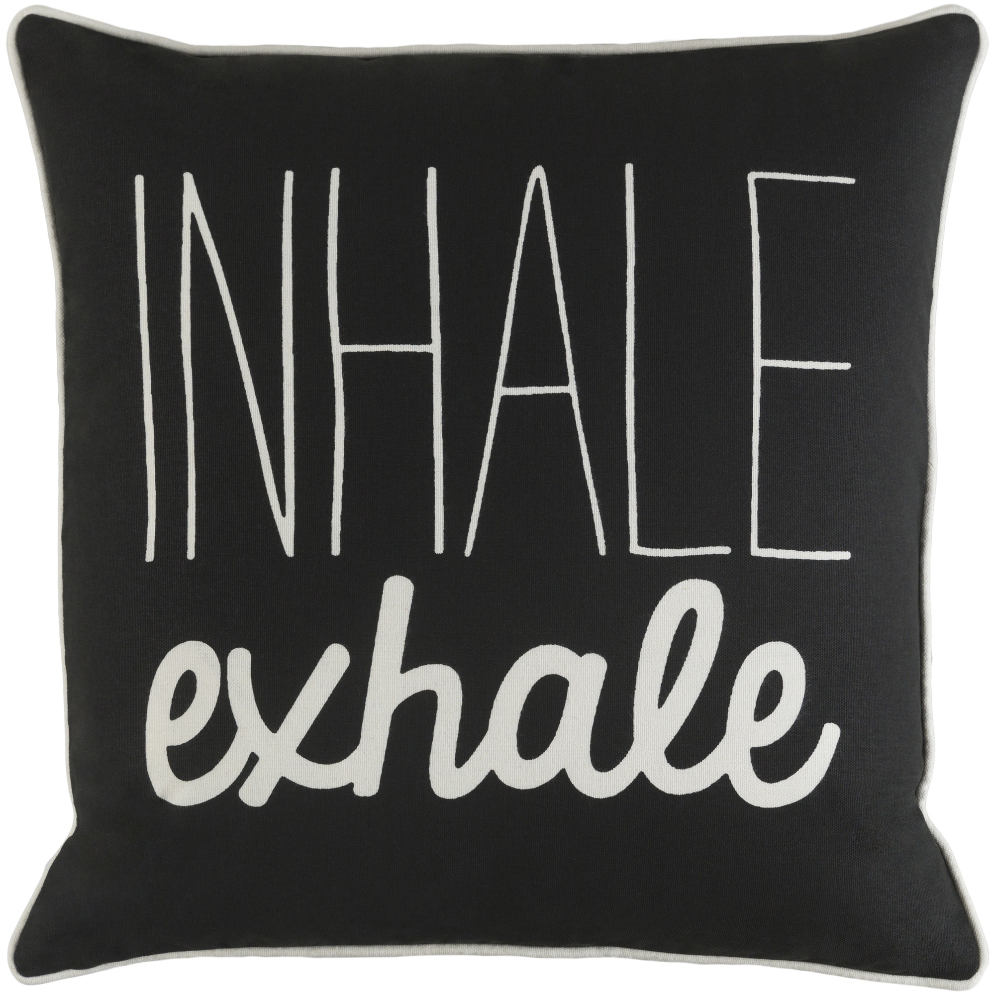 """Artistic Weavers Glyph Inhale/Exhale 18"""" x 18"""" Pillow Cover"""