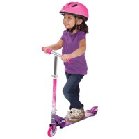 Huffy Disney Princess Girls' Inline Folding Kick Scooter