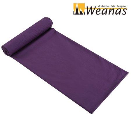 - WEANAS 2 Person  Warm Roomy Combed Cotton Sleeping Bag Liner, Double Travel Sheet Sleep Sack, 86.6