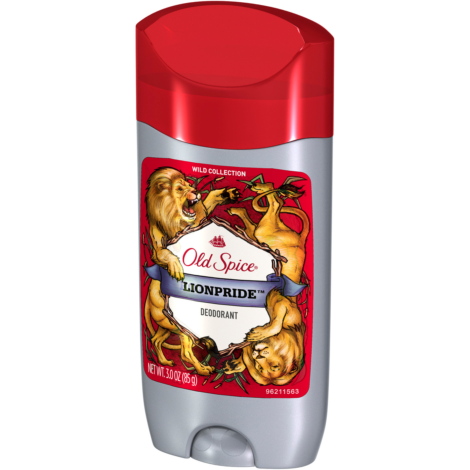 Old Spice Wild Collection Lionpride Solid Deodorant, 3 oz