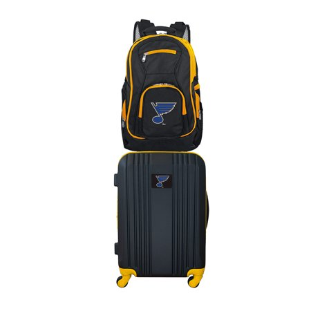 Louis Vuitton Luggage (NHL ST Louis Blues 2-Piece Luggage and Backpack Set )