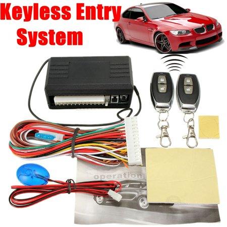 Matcc 12v Car Keyless Entry System Remote Control Central Door Lock