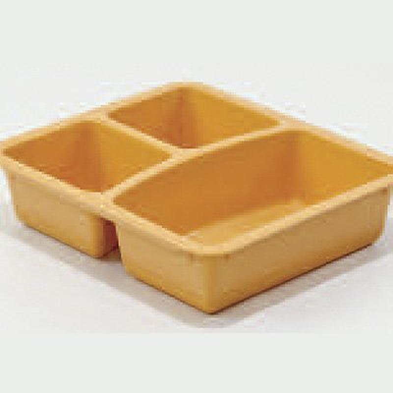 Rolyn Prest 3-Section Food Dish - 3-Section Food Container