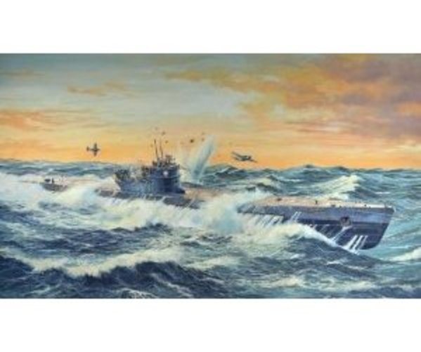 Revell Of Germany 05114 1 72 German Submarine Type IX C Multi-Colored by Revell