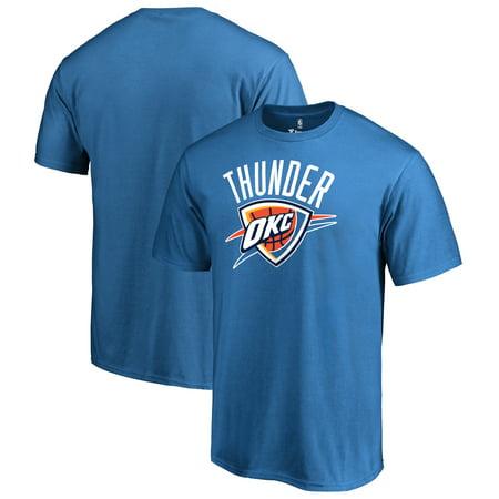 Oklahoma City Thunder Fanatics Branded Primary Logo T-Shirt - Blue](Party City Oklahoma City)