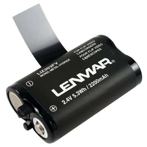 Lenmar Liz303fv Flip Video[r] Ultra Replacement Battery