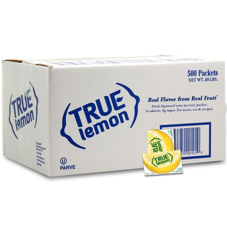 (500 Packets) True Lemon, Lemon, $0.04/Oz