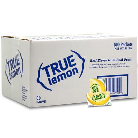 (500 Packets) True Lemon, Lemon, $0.04/Oz