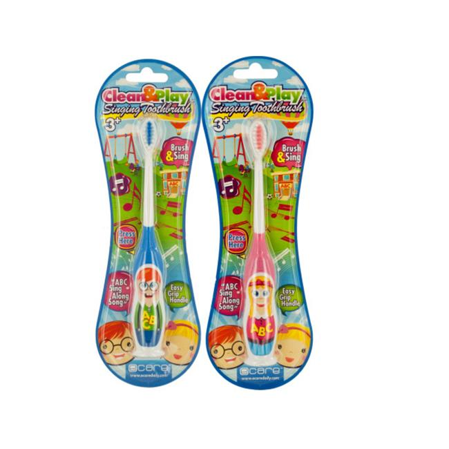 Bulk Buys BH382-96 ABC Sing Along Musical Toothbrush, 96 Piece