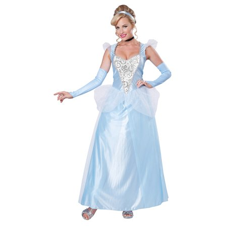 Adult Female Classic Cinderella Princess Costume by California Costumes 01345](Great Female Costumes)
