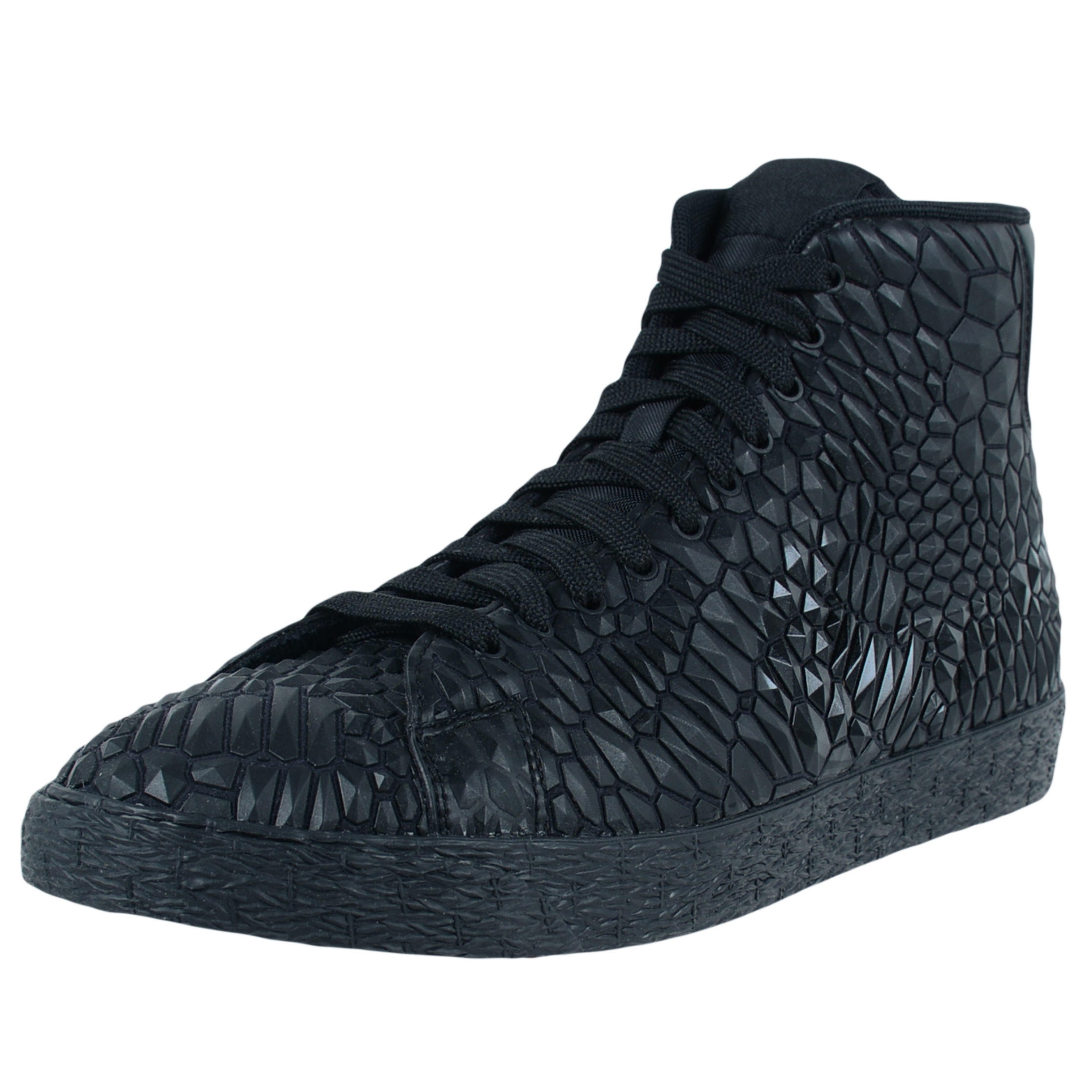 Nike WOMENS BLAZER MID DMB FASHION SNEAKERS BLACK BLACK B...