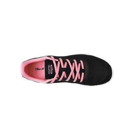 PYPE Women Contrast Color PU Panel Mesh Training Shoes Black US 7.5 - image 4 de 7