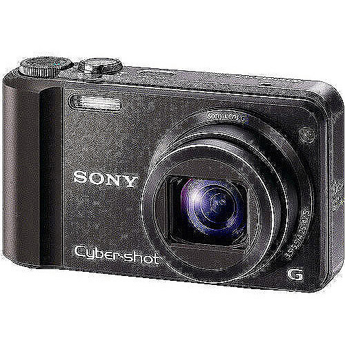 Sony Cyber-shot DSC-H70 16MP Digital Camera w/ 10x Zoom a...