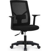 NEO CHAIR Office Chair Computer Desk Chair Gaming - Bulk Business Ergonomic Mid Back Cushion Lumbar Support Wheels Comfortable Black Mesh