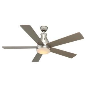 Hampton Bay Cobram 48 in. Brushed Nickel Ceiling Fan by Summerwind
