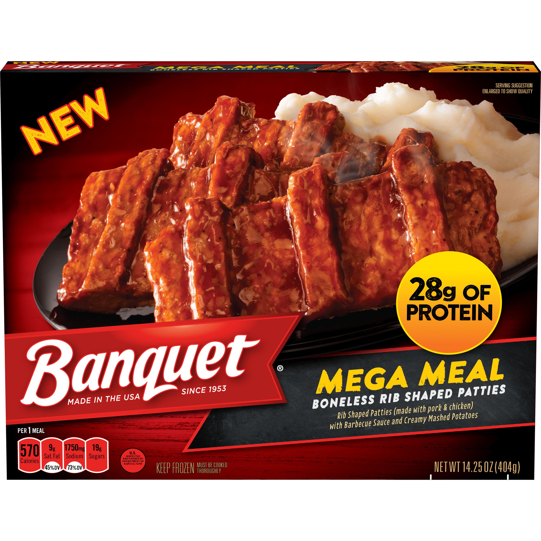 Banquet Mega Meal Backyard BBQ, 14.25 Ounce