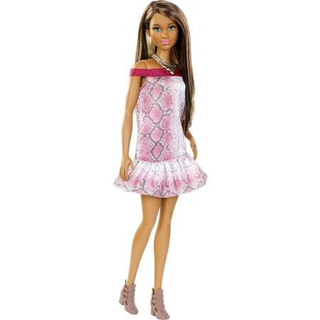 Barbie Fashionistas Pretty In Python, Original Body Doll - Pretty Halloween Makeup Doll