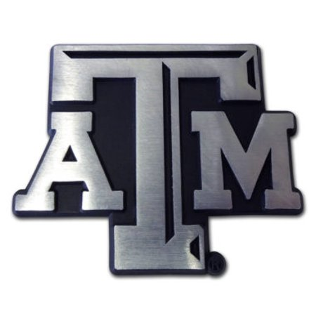 Texas A&m Decorations (Texas A&M Matte Chrome Emblem)
