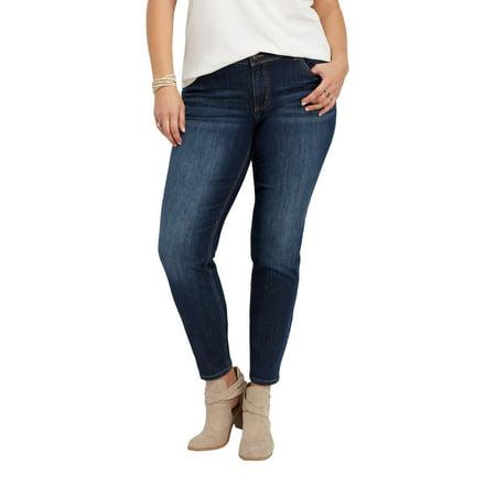 ff9c2188b78eb maurices - maurices Dark Wash Skinny Jean - DenimFlex Plus Size ...
