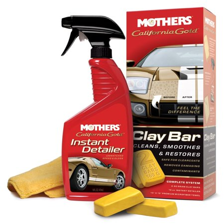 07240 California Gold Clay Bar System Single Unit, USA, Brand Mothers