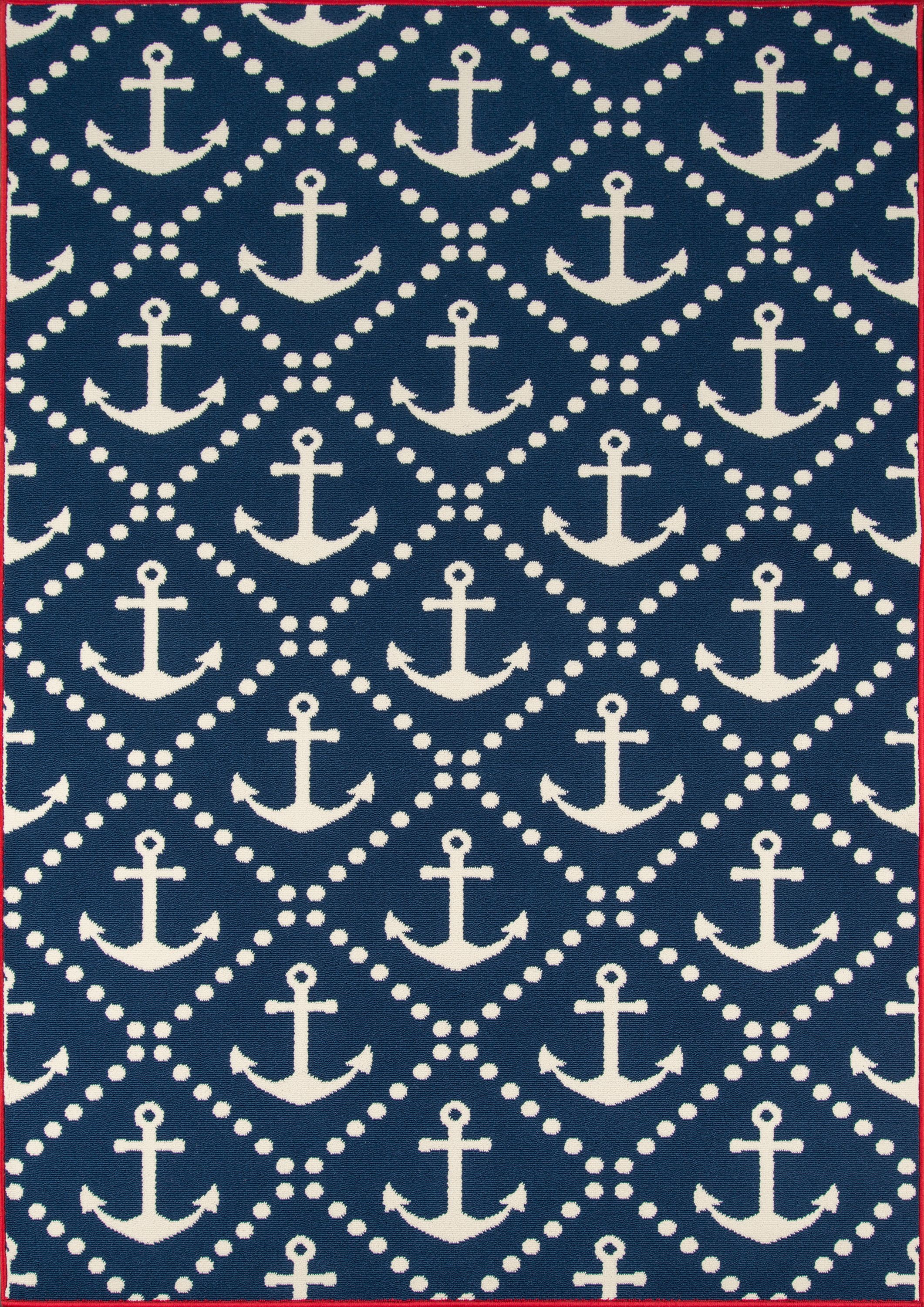 Momeni Baja Anchors Area Rug by Momeni