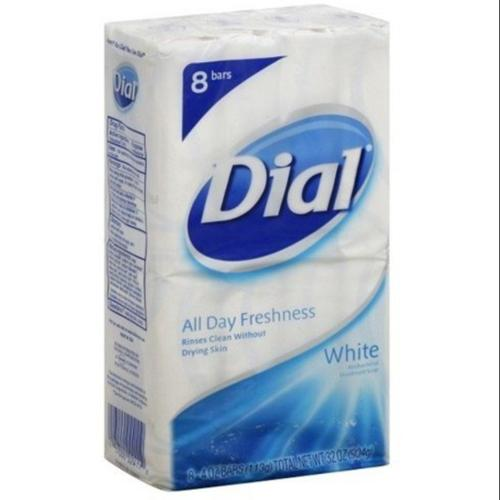 Dial Antibacterial Deodorant Bar Soap, Clean and Fresh, 4 oz bars, 8 ea (Pack of 2)