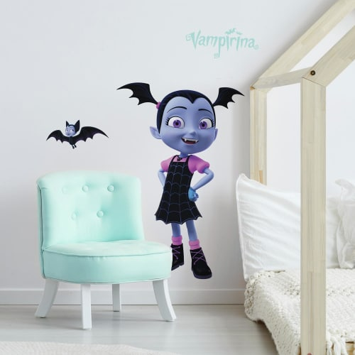 Disney Vampirina Peel and Stick Giant Wall Decals