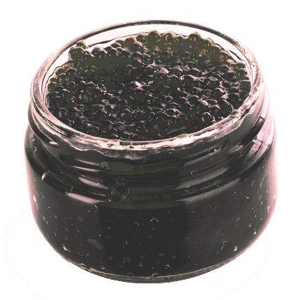 Black Lumpfish Caviar (Lumpfish Caviar - Black Roe 3.5 oz )