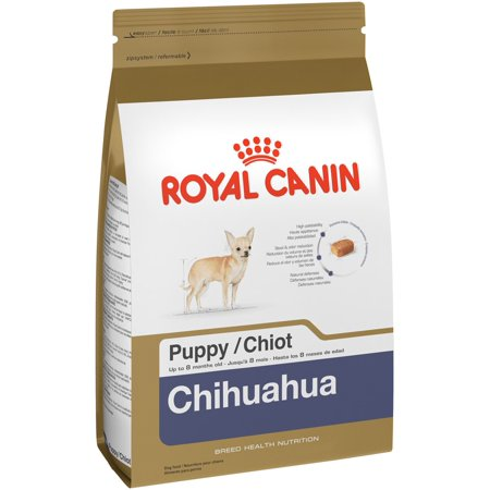 Royal Canin Breed Health Nutrition Chihuahua Small Breed Puppy Dry Dog Food, 2.5 lb