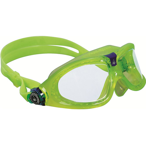 Seal Kid Lime Goggles, Clear Lens by Aqua Lung America
