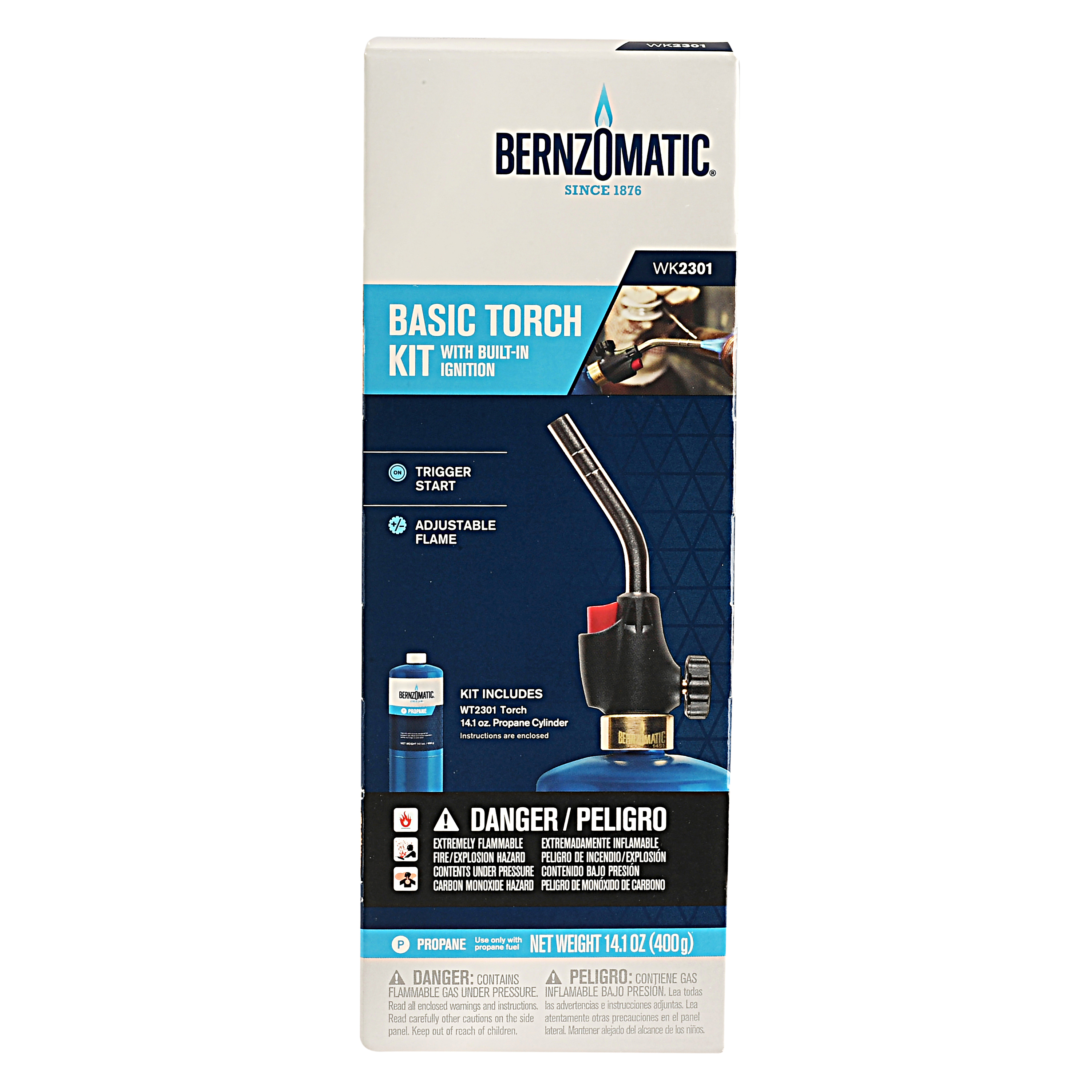 Bernzomatic, Basic Torch Kit, With Built In Ignition by Generic