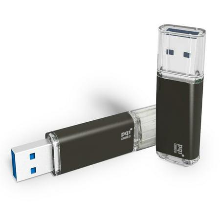 32GB PQI U273V Traveling Disk USB Flash Drive - Black - -
