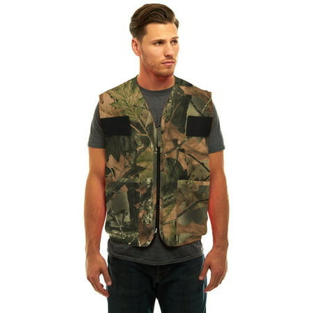 CAMOUFLAGE DOVE HUNTERS CAMO VEST W/ GAME BAG- PHEASANT UPLAND TURKEY (Best Upland Hunting Strap Vest)