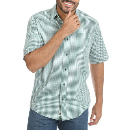 Men's Advanced Comfort Short Sleeve Woven Shirt