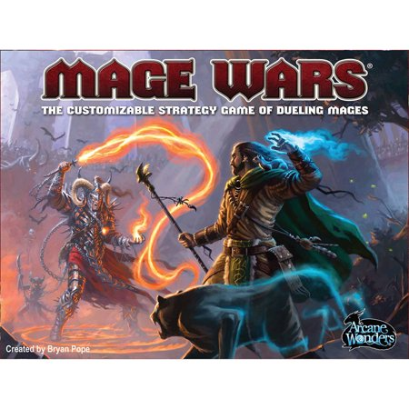 Arcane Wonders Mage Wars Board Game