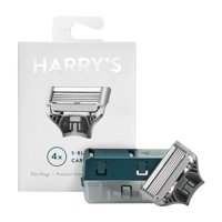 Harrys German-Engineered Mens Razor Blade Refills, 4Ct