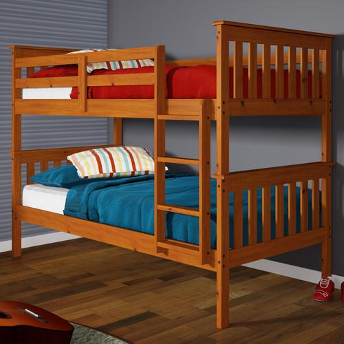 Harriet Bee Hollins Twin over Twin Bunk Bed