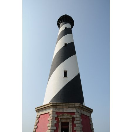 East Coast Lighthouses - Laminated Poster Outer Banks North Caroline East Coast Lighthouse Poster Print 24 x 36
