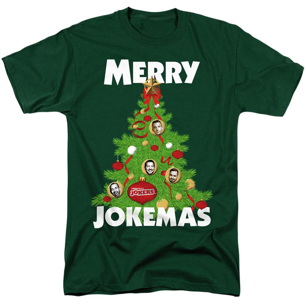 IMPRACTICAL JOKERS TV Show Joker Pictures SLIDES Adult T-Shirt All Sizes